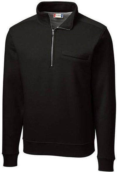 Clique Cadiz Half Zip-S-Black-Thread Logic