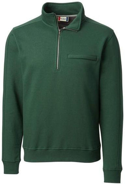 Clique Cadiz Half Zip-S-Bottle Green-Thread Logic