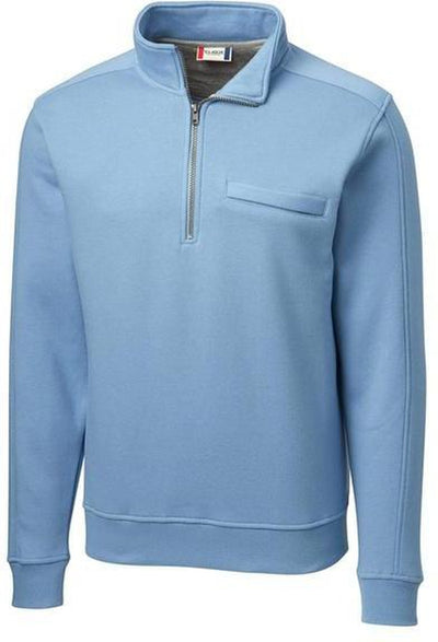 Clique Cadiz Half Zip-S-Light Blue-Thread Logic