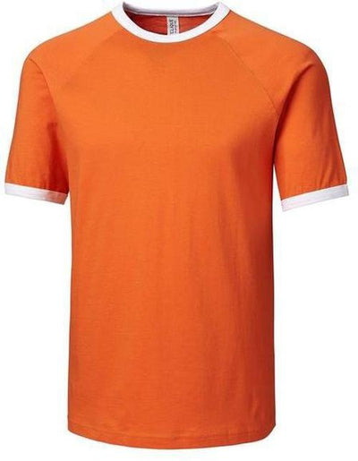 College Orange Clique Playlist Ringer Tee
