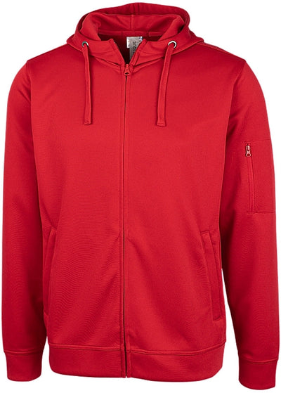 Clique Lift Performance Full Zip Hoodie-Men's Layering-Thread Logic