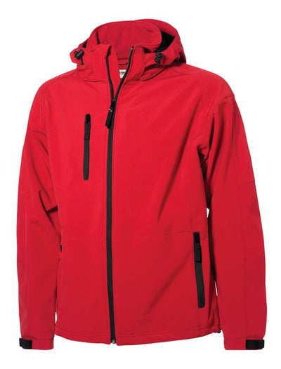 Clique Tulsa Hooded Jacket-S-Red-Thread Logic