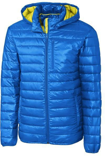 Clique Stora Puffy Jacket-S-Royal/Visibility Green-Thread Logic