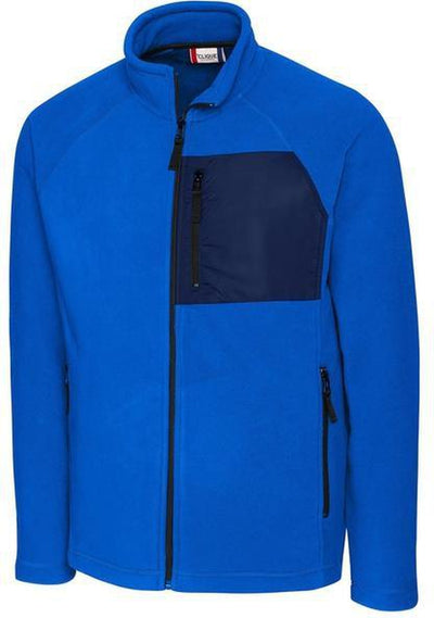 Royal Clique Summit Microfleece Hybrid Full Zip