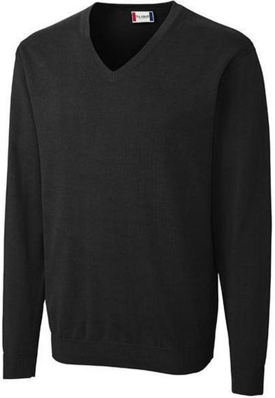 Clique Imatra V-neck Sweater-S-Black-Thread Logic