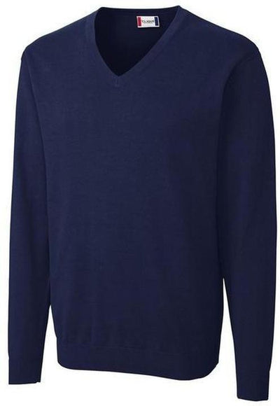Clique Imatra V-neck Sweater-S-Navy-Thread Logic