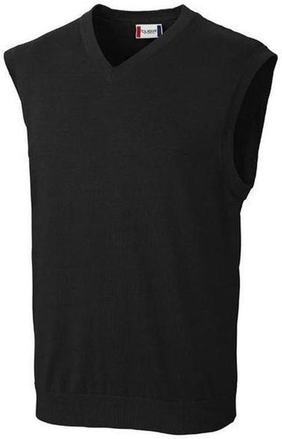 Clique Imatra V-neck Sweater Vest-S-Black-Thread Logic