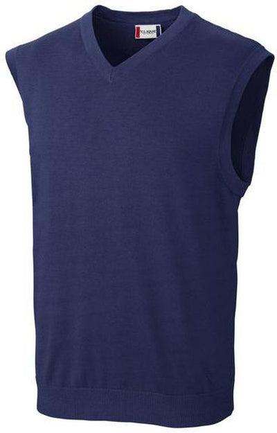 Clique Imatra V-neck Sweater Vest-S-Navy-Thread Logic