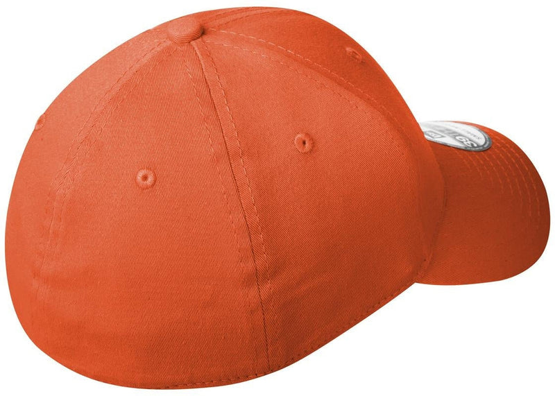 New Era Structured Fitted Cotton Cap-L/XL-Orange-Thread Logic