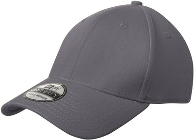 New Era Structured Fitted Cotton Cap-L/XL-Graphite-Thread Logic