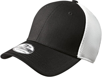 New Era Stretch Mesh Cap-L/XL-Black/White-Thread Logic