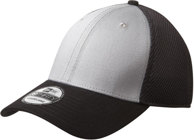 New Era Stretch Mesh Cap-L/XL-Grey/Black-Thread Logic