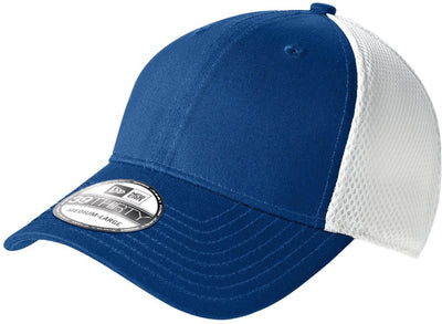 New Era Stretch Mesh Cap-L/XL-Royal/White-Thread Logic