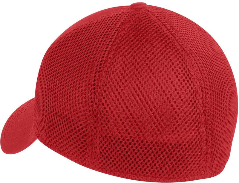 New Era Stretch Mesh Cap-L/XL-Scarlet Red-Thread Logic