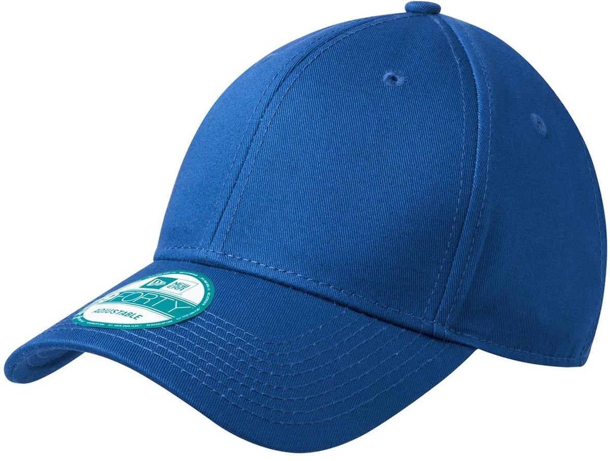 New Era Adjustable Structured Cap-Royal-Thread Logic