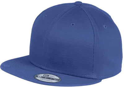 New Era Flat Bill Snapback Cap-Royal-Thread Logic