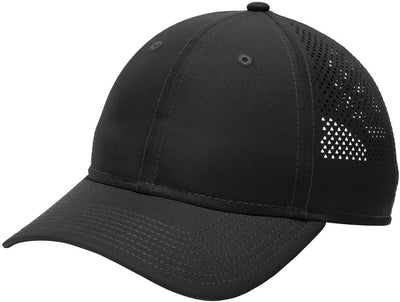 New Era Perforated Performance Cap-Black-Thread Logic