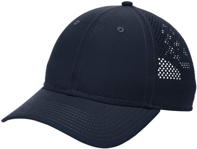 New Era Perforated Performance Cap-Deep Navy-Thread Logic