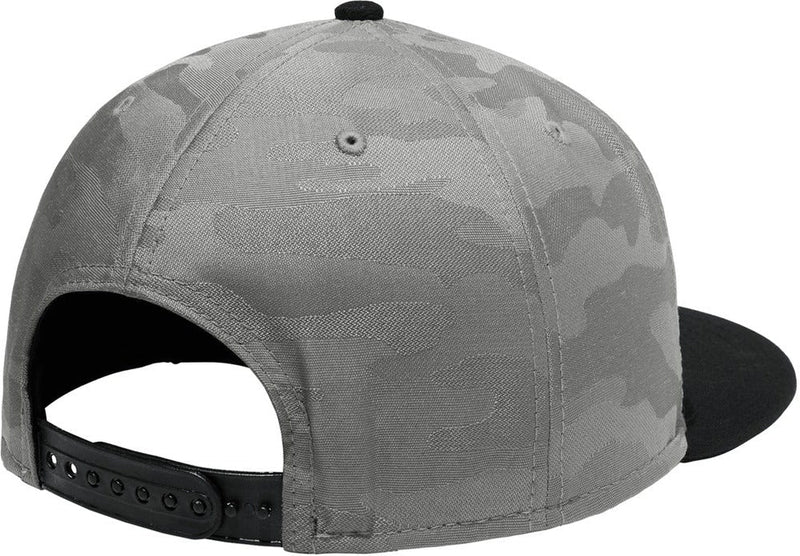 New Era Camo Flat Bill Snapback Cap-Caps-Thread Logic