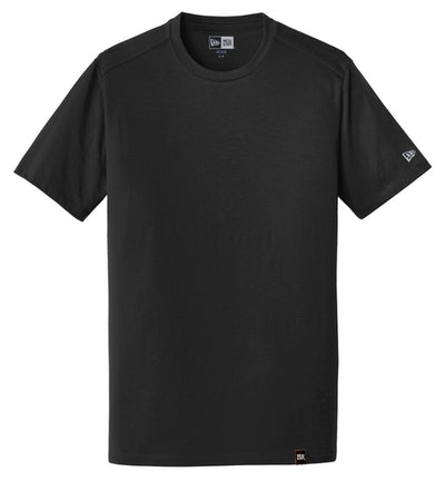 New Era Heritage Blend Crew Tee-S-Black-Thread Logic