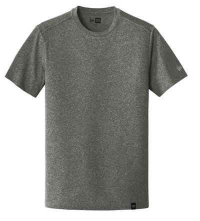 New Era Heritage Blend Crew Tee-S-Black Twist-Thread Logic