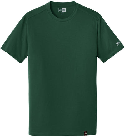 New Era Heritage Blend Crew Tee-S-Dark Green-Thread Logic