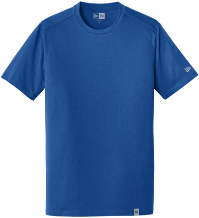 New Era Heritage Blend Crew Tee-S-Royal-Thread Logic