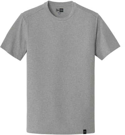 New Era Heritage Blend Crew Tee-S-Shadow Grey Heather-Thread Logic