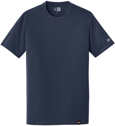 New Era Heritage Blend Crew Tee-S-True Navy-Thread Logic