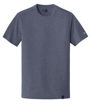 New Era Heritage Blend Crew Tee-S-True Navy Heather-Thread Logic