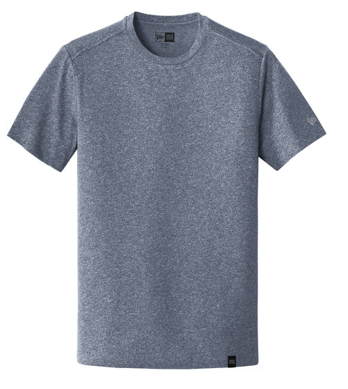 New Era Heritage Blend Crew Tee-S-True Navy Twist-Thread Logic