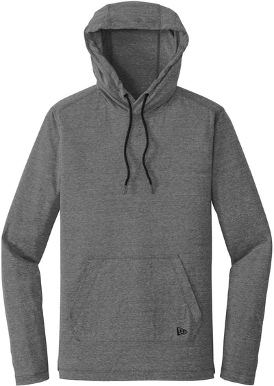 New Era Tri-Blend Performance Hoodie Tee-S-Dark Graphite-Thread Logic