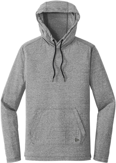 New Era Tri-Blend Performance Hoodie Tee-S-Shadow Grey-Thread Logic