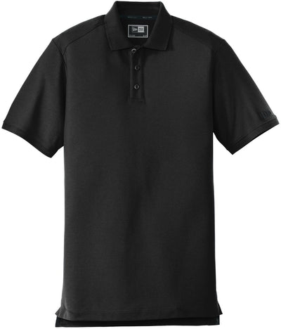 New Era Venue Home Plate Polo-S-Black-Thread Logic