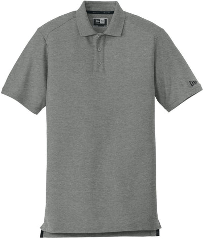 New Era Venue Home Plate Polo-S-Graphite Heather-Thread Logic