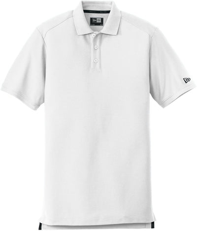 New Era Venue Home Plate Polo-S-White-Thread Logic