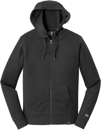 New Era French Terry Full-Zip Hoodie-S-Black-Thread Logic