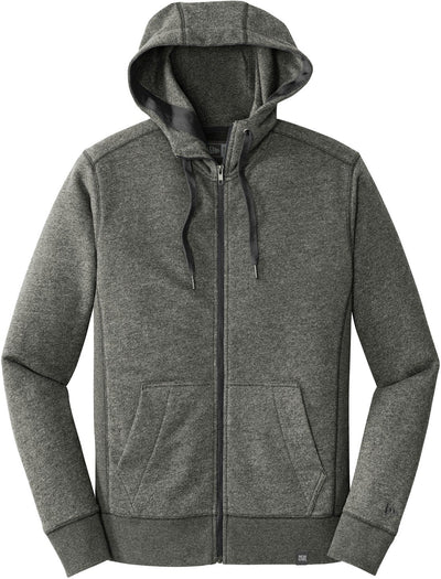 New Era French Terry Full-Zip Hoodie-S-Black Twist-Thread Logic