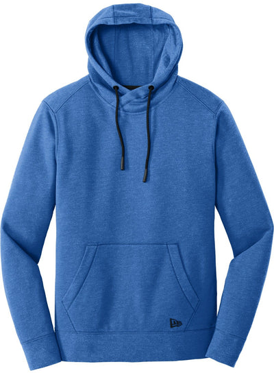New Era Tri-Blend Fleece Pullover Hoodie-S-Royal Heather-Thread Logic