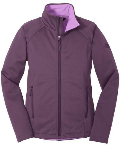 The North Face Ladies Ridgeline Soft Shell Jacket-S-Blackberry-Thread Logic