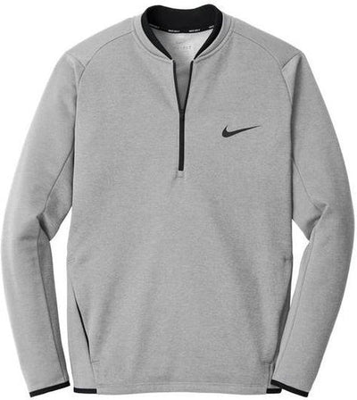 Grey Nike Therma-FIT Textured Fleece 1/2-Zip