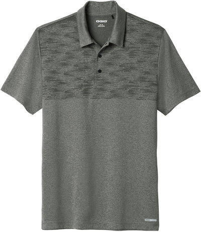 OGIO Gravitate Polo-XS-Dark Heather Grey-Thread Logic