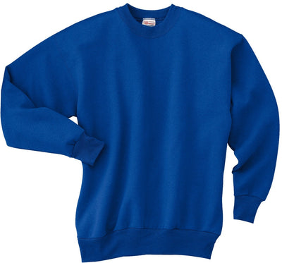Hanes-Comfortblend Crewneck Sweatshirt-S-Deep Royal-Thread Logic