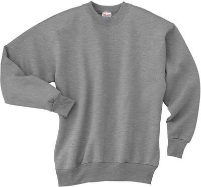 Hanes-Comfortblend Crewneck Sweatshirt-S-Light Steel-Thread Logic