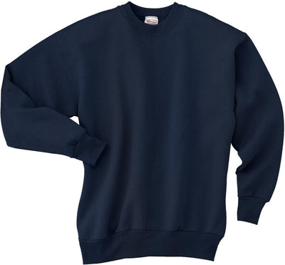 Hanes-Comfortblend Crewneck Sweatshirt-S-Navy-Thread Logic