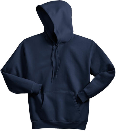 Hanes-Comfortblend Pullover Hooded Sweatshirt-S-Navy-Thread Logic