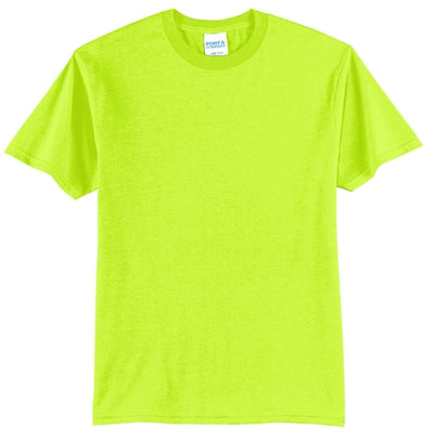 Safety Green Core Blend Tee
