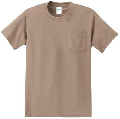 Port & Company-Tall Essential T-Shirt-LT-Sand-Thread Logic