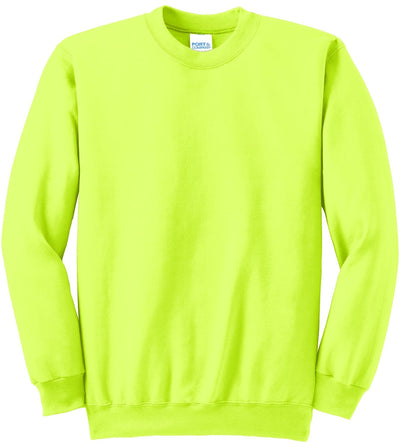 Safety Green Ultimate Crewneck Sweatshirt