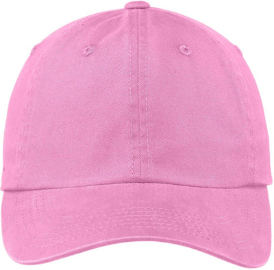 Bright Pink Garment Dyed Cap